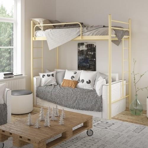 Кровать Эдельвейс Чердак 90*190 см бежевый Tenero