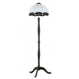 Лампа напольная 20539 SAMANTA черный+белый Alfa