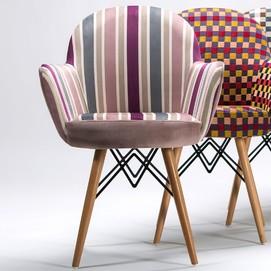 Кресло Gora-V Pad фиолетовый Tilia