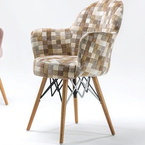 Кресло Gora-V Pad коричневый Tilia