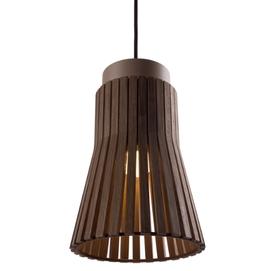 Лампа подвесная Мальта коричневая Pradex
