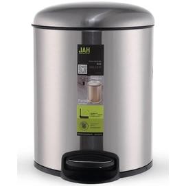 Ведро для мусора JAH 4л 6309 металлик