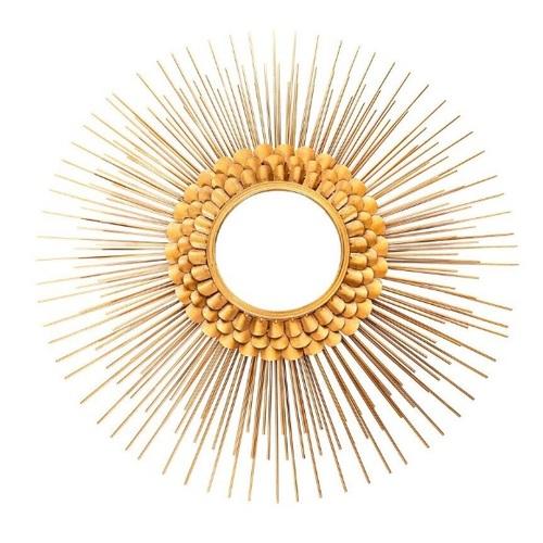 Зеркало Augustus 100 996-01 золото Kayoom