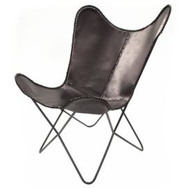 Кресло-бабочка Juan 321 ZS84B черный Kayoom