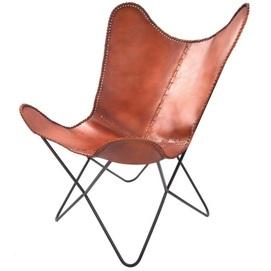Кресло-бабочка Juan 321 D6EY7 коричневый Kayoom
