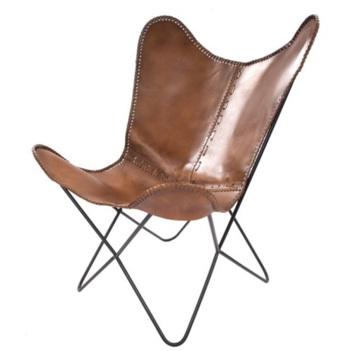 Кресло-бабочка Juan 324 AIN1S коричневый Kayoom