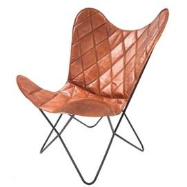 Кресло бабочка Pablo 329 JA5FW коричневый Kayoom