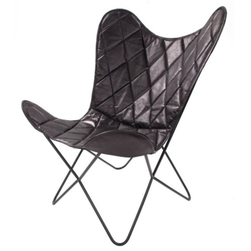 Кресло бабочка Pablo 330 FTRS3 черный Kayoom