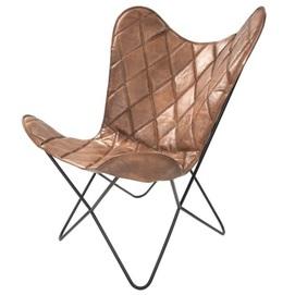 Кресло бабочка Pablo 332 1KQWY коричневый Kayoom