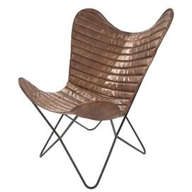 Кресло бабочка Santiago 328 AS8B4 коричневый Kayoom