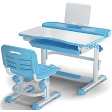 Комплект парта и стульчик Evo-kids BD-04 XL New (без лампы)  бело-голубой Mealux