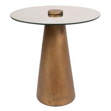 Стол кофейный Scotch 125 Q9LG5-BRA золото Kayoom
