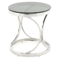 Стол кофейный Weyda 125 ARW39-SIV серебро Kayoom