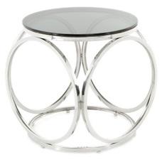 Стол кофейный Whitney 125 74COK-SIV серебро Kayoom