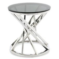 Стол кофейный Wesley 125 255OB-SIV серебро Kayoom
