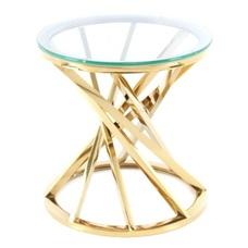 Стол кофейный Wesley 125 255OB-GLD золото Kayoom