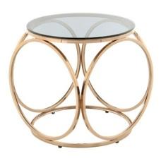 Стол кофейный Whitney 225 FCSH7-RGLD розовое золото Kayoom