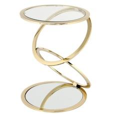 Стол кофейный Spiral 525 M9QAT золото Kayoom
