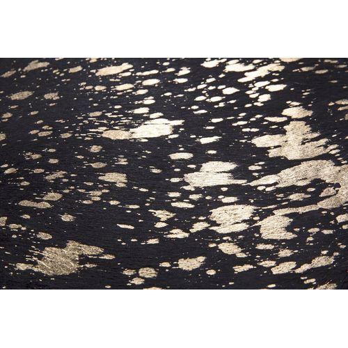 Шкура Glam 110 B5DMJ-135-165см чёрный с золотом Kayoom