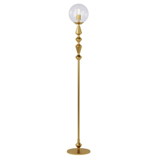 Торшер Dome Solo 16534-8 белый+золото Pikart 2020