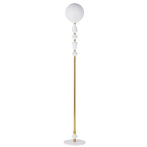 Торшер Dome Solo 16534-7 золото+белый Pikart 2020