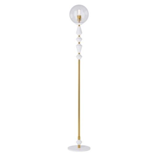 Торшер Dome Solo 16534-2 белый Pikart 2020