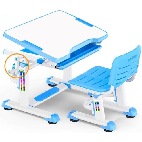 Комплект парта и стульчик Evo-Kids BD-08 бело-голубой Mealux