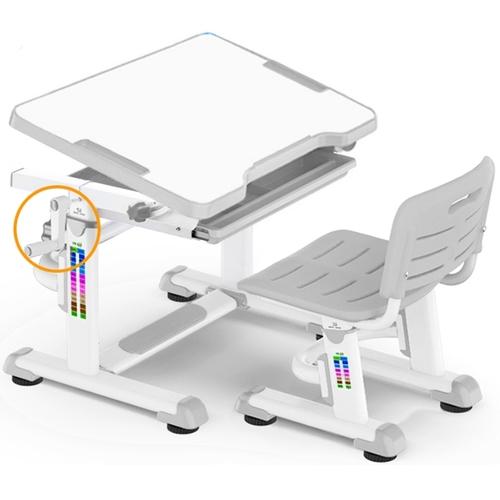 Комплект парта и стульчик Evo-Kids BD-08 бело-серый Mealux