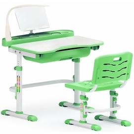 Комплект парта и стульчик Evo-kids Evo-17 (с LED лампой) бело-зеленый Mealux