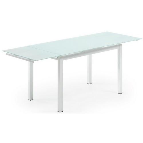 Стол обеденный раскладной AF1017DT белый TheOUTLET.24