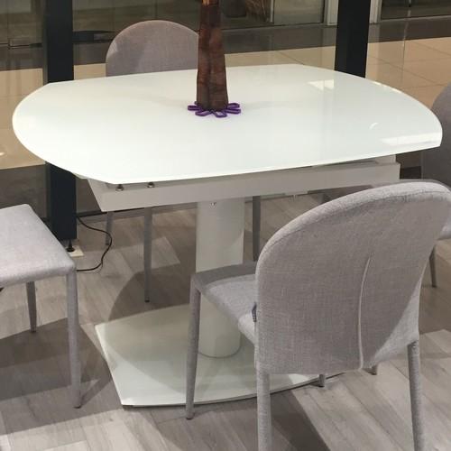 Стол обеденный раскладной 2403WT белый TheOUTLET.24