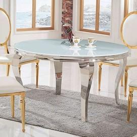 Стол обеденный 120cm TH306-5 белый+золото Glamoorzee