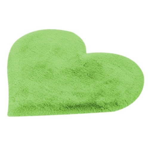 Ковер Сердце Lovely Kids TGLVY-60-70см зеленый Kayoom