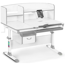 Детский стол (парта) Evo-kids EVO-50 бело-серый Mealux