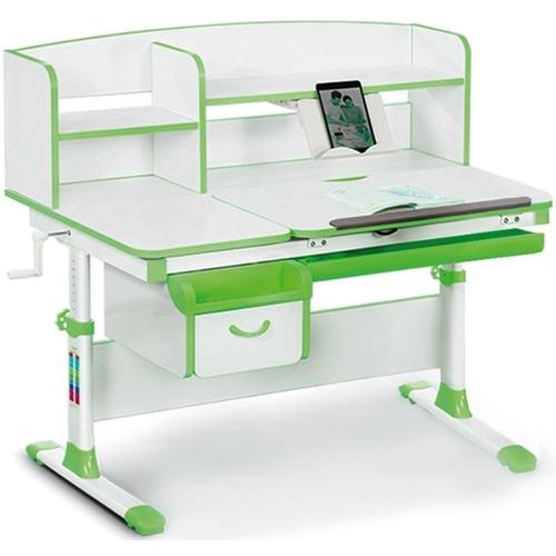 Детский стол (парта) Evo-kids EVO-50 бело-зеленый Mealux