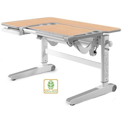 Детский стол (парта) Kingwood D-820 MG/BL клен/серый Mealux