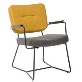 Кресло M-80 желтый (горчичный) Verde 2020