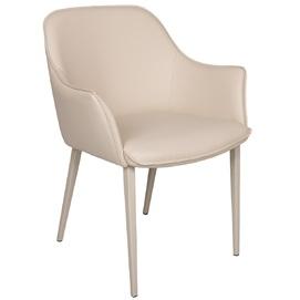 Кресло Milton бежевый цвет-экокожа Kolin 2020