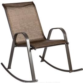 Кресло-качалка DUBLIN коричневое 11840 Garden4You