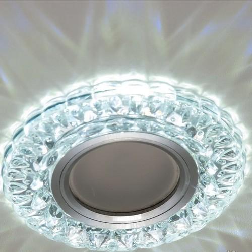 Точечный светильник 7325WH белый Diasha