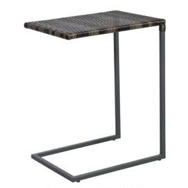 Стол приставной Wicker 11945 темно-коричневый Garden4You