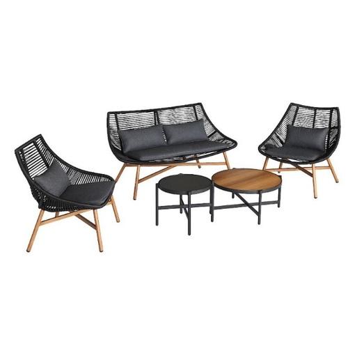 Комплект HELSINKI 20531 черный Garden4You 2020