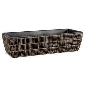 Кашпо Wicker Fitrit 38011 серо-коричневый Garden4You 2020