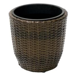 Кашпо Wicker 92743 коричневый Garden4You 2020