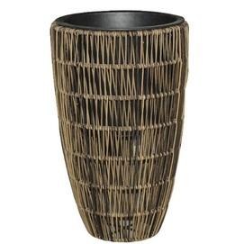 Кашпо Wicker 38005 серо-коричневый Garden4You 2020