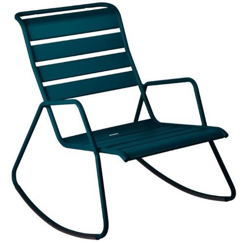 Кресло качалка Monceau 480621 синий Fermob