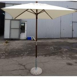 Зонт деревянный Варна 2х2 м кремовый OUTDOOR