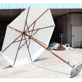 Зонт деревянный Палладиум D 2.5м кремовый OUTDOOR