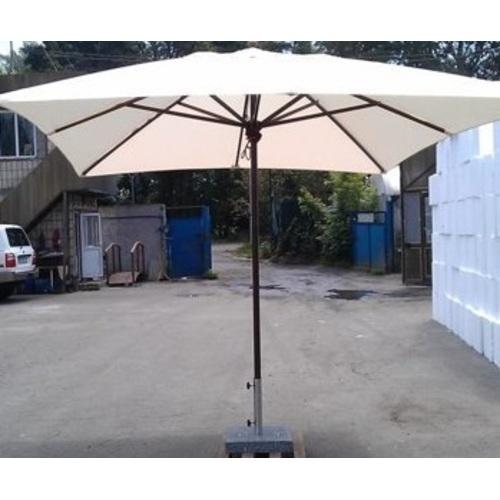Зонт деревянный Прага 3х4 м кремовый OUTDOOR