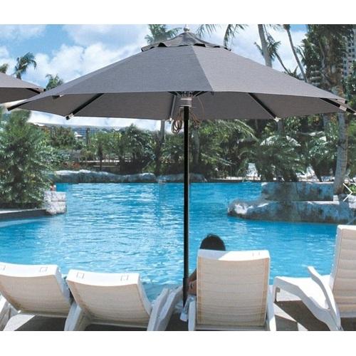 Зонт алюминиевый Барселона D 3,5м серый OUTDOOR